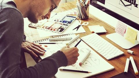 Diseña el sistema visual y la papelería de una marca