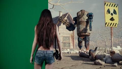 Crea un cortometraggio fantasy con Blender e il Chroma Key.