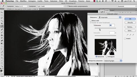 Photoshop - Selezione e scontorno con le versioni CC e CS6
