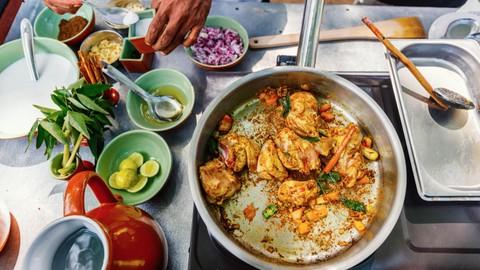 Indian Cooking   Panner Matar Masala with Paratha