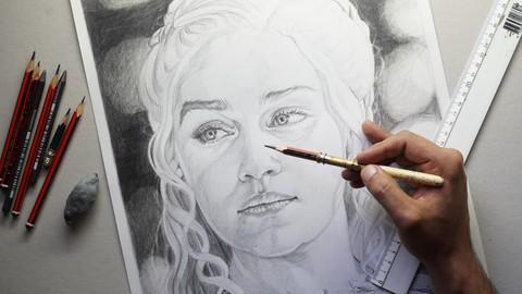 Der komplette Zeichenkurs : Realistische Porträts