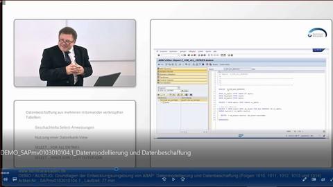 SAP ABAP Datenmodellierung und Datenbeschaffung (Grundlagen)