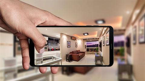 Curso de fotografia de imóveis com celular