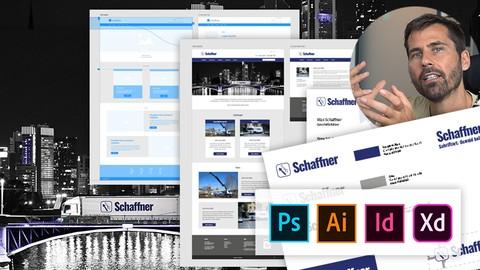 Grafik Design Masterclass: Ein reales Projekt von A bis Z!