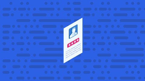 Code a Resume and CV Page using popular web frameworks