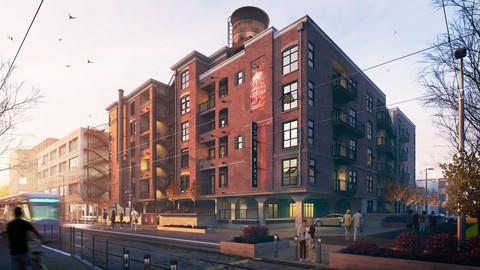 3ds Max + Vray: Advanced Architectural Exteriors