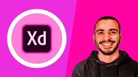 احترف تصميم واجهات المواقع والتطبيقات UI/UX with Adobe XD