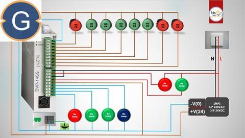 Delta PLC Programming Using WPLSoft (PLC-SCADA-8)