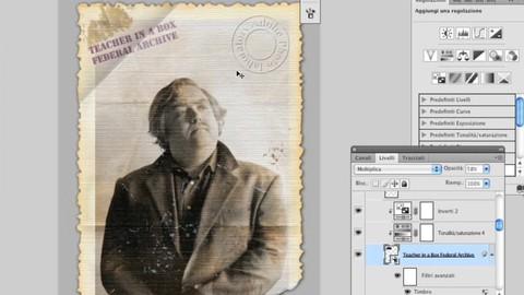 Photoshop - Tecniche di invecchiamento fotografico