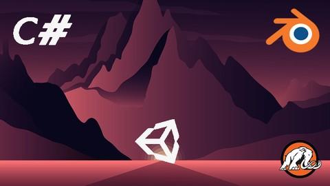 Build 2 Huge 3D Games in Unity: Complete C# & Blender Models