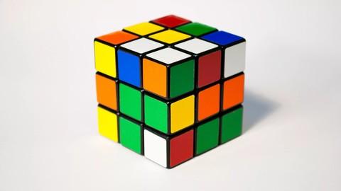 Rubik's Cube hypnotized