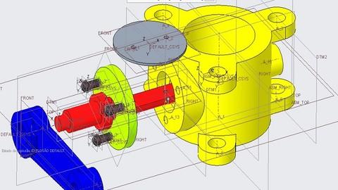 Curso Creo Parametric 4.0 - Treinamento Pro-Engineer