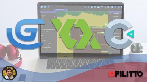 Crie Jogos no Game Maker Studio 2, Construct 2 e GDevelop