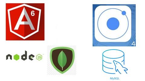 Angular 6 e 7 com Node JS, Mongo DB, e Mysql  jwt IONIC 4