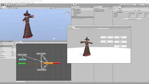 Анимированный 3d персонаж для Unity за 1 час