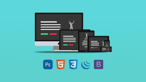 Create Responsive Websites: From PSD Design to Code As a Pro