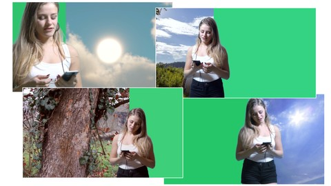 Esercizi di compositing video Chroma Key con After Effects
