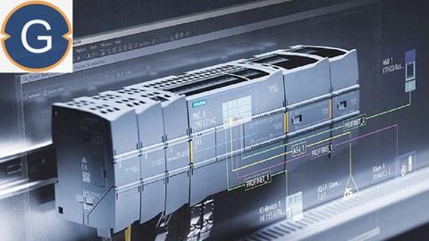 Siemens TIA Portal for S7-1200 PLC Programming(PLC-SCADA-10)
