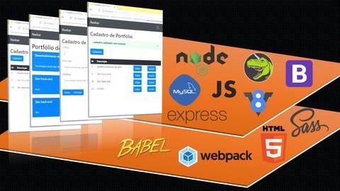 Programador FullStack JS/Node: Proj WEB SPA RESTFul PageCRUD