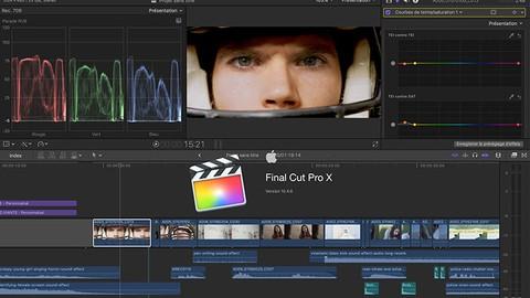 Maitrisez Final Cut Pro X et le montage vidéo