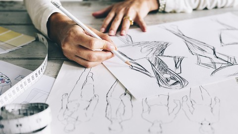 Learn to draw Fashion Sketches and Become a Fashion Designer