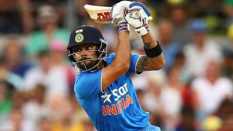 How to bat like Virat Kohli against pace bowling.