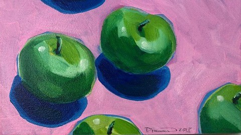 Acrylic Painting: Make Your Paintings Pop! +FREE book + cert
