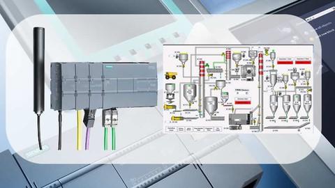 Siemens S7 1200 PLC Eğitim Haberleşme-Scada-Servo-VFD-PID