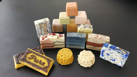 Cold Process Soap Making #2 - Natural Colours & Ingredients