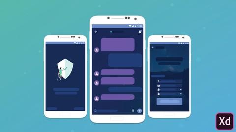UX/UI Design: Design Beautiful Messaging App with Adobe XD