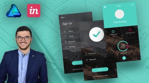 Mobile App Design in Affinity Designer: UX & UI from Scratch