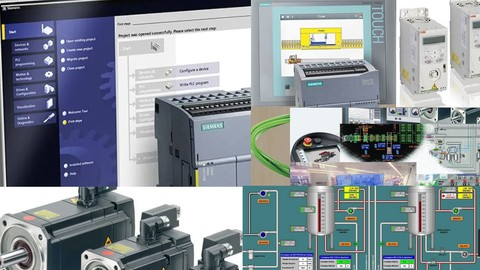 Tia Portal ile Siemens S7 1200 PLC ,Panel ve WinCC SCADA-1