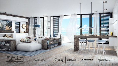 INTERIOR DESIGN CHALLENGE with 3DsMax VRay Photoshop