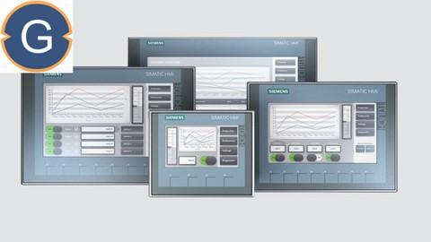 Siemens TIA Portal for KTP400 HMI Programming (PLC-SCADA-12)