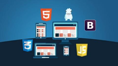 web development package (HTML5/CSS/ bootstrap/javaScript)