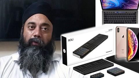 ROLI Songmaker, Seaboard, Lightpad, Noise App & Chromacam