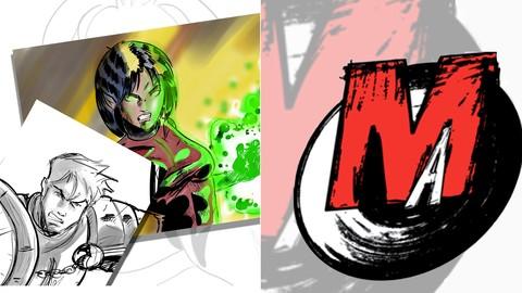 Pack: Initiation au comics et le logiciel MotionArtist