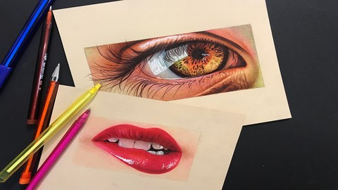 Drawing & Painting with Ballpoint Pen: Art of Pen Drawing