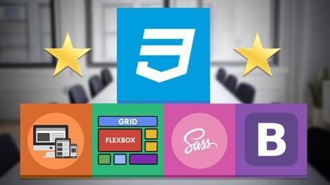 Master en CSS: Responsive, SASS, Flexbox, Grid y Bootstrap