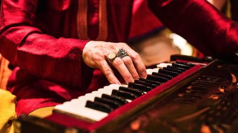 Learn Evening Classical Ragas Based Soul Kirtan on Harmonium
