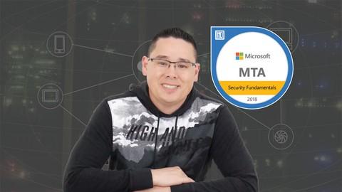 MTA 98-367 Security Fundamentals Class & Exam Prep Bundle