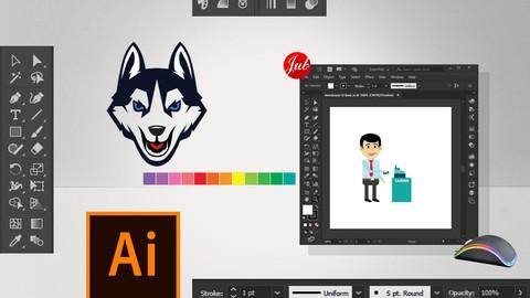 Menggambar dengan Adobe Illustrator