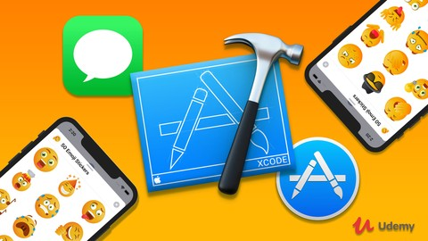 Build, Modify, Upload and Sell iMessage Sticker Packs!