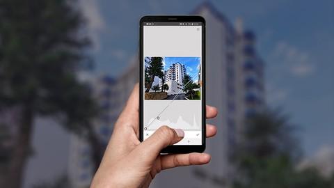 Curso de Edição de Fotografia de Imóveis no Celular