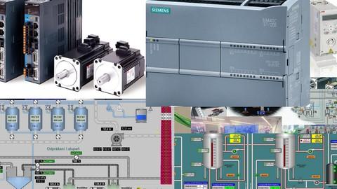 Tia Portal ile Siemens S7 1200 PLC ,Panel ve WinCC SCADA-2