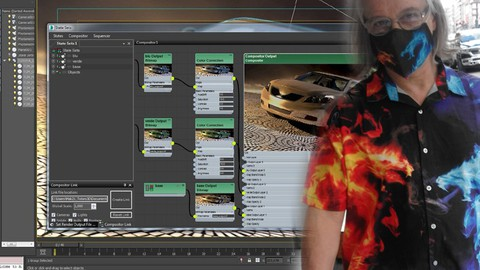 3ds max Composizione Render State Set