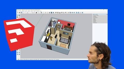 Sketchup pour le design d'intérieur