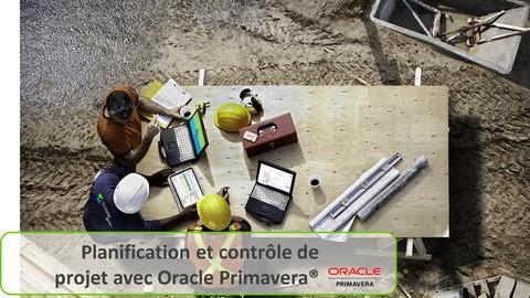 Planification et contrôle de projet avec Oracle PrimaveraP6®