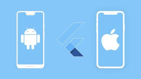 Desenvolvimento Android e IOS com Flutter 2021 -Crie 15 Apps