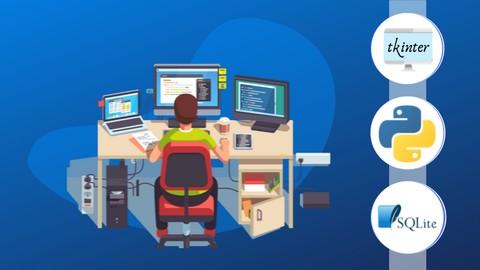 Python GUI Programming Using Tkinter and SQLite3
